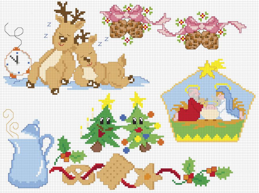 Idee Regalo Natale Punto Croce.Realizza Con Il Punto Croce Il Tuo Regalo Di Natale