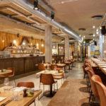 ristorante dell'hotel stile vintage V Nesplein in Amsterdam