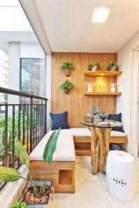 panca per balcone perfetto