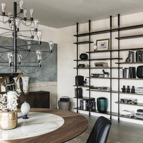 Specchi, modularità, industrial e molto altro. Tutte le ultime tendenze del design per interni.
